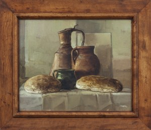 Józef PANFIL (ur. 1958), Martwa natura z chlebem