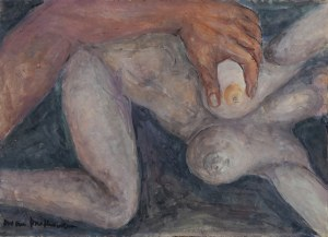 Bożena BRAKOWSKA (1933-2017), Scena erotyczna