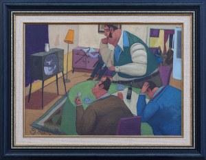 Jacek PAŁUCHA (ur. 1966), Wieczór mistrzów, 1998