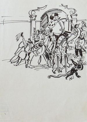 Antoni UNIECHOWSKI (1903-1976), Ilustracja