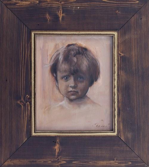 Marek FREUDENREICH (ur. 1938) - ?, Portret dziecka