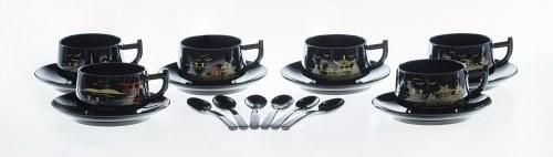 Serwis do herbaty na 6 osób w oryginalnym etui