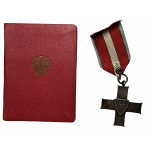 Krzyż Orderu Grunwaldu + legitymacja 1959