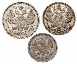 ROSJA - 10,15,20 kopiejek (1915,1916)
