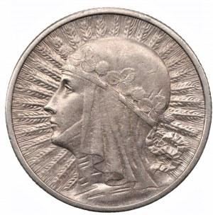 II RP - 2 złote 1933 - Głowa Kobiety