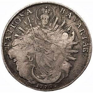 NIEMCY - Bawaria - Maksymilian III - Talar 1772 (A) Amberg