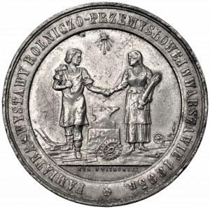 Medal na pamiątkę wystawy rolniczo-przemysłowej w Warszawie 1885