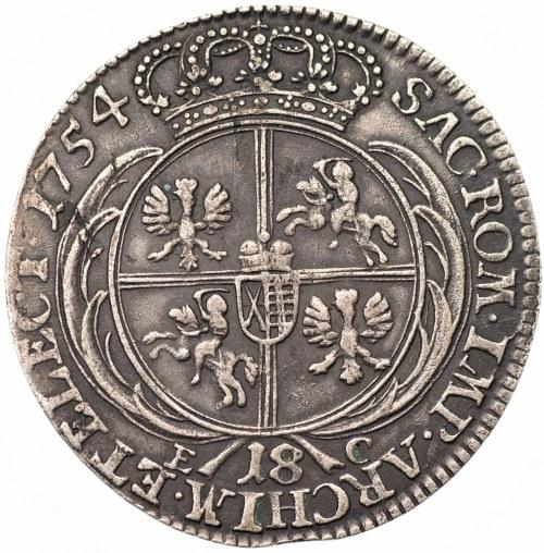 August III Sas (1733-1763) - Ort 1754 EC