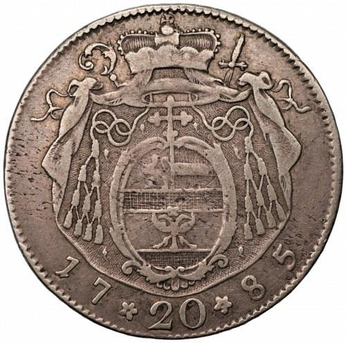 Arcybiskupstwo Salzburga - Hieronim von Colloredo - 20 krajcarów 1785