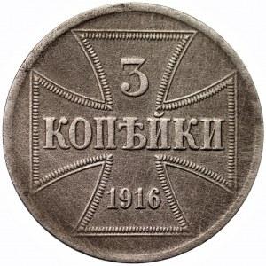 OST - 3 kopiejki 1916 - A - Berlin