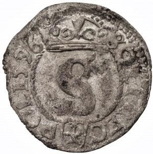 Zygmunt III Waza (1587-1632) - Szeląg 1596 Wschowa