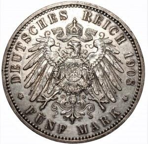 NIEMCY - 5 marek 1908 (A)