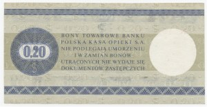 PEWEX - 20 centów 1979 - seria IN