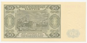 20 złotych 1948 - seria DY