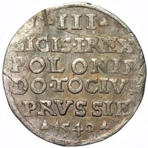 Zygmunt I Stary (1506-1548) - Trojak 1540 Elbląg