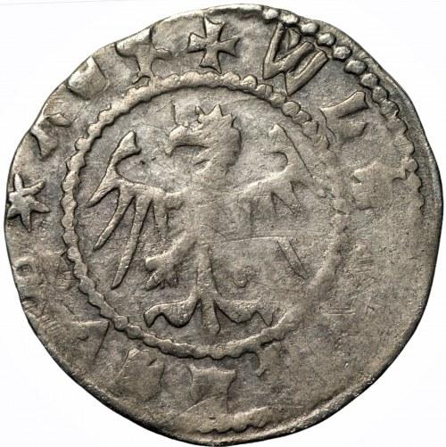 Władysław II Jagiełło (1386-1434) - Kwartnik lwowski - mennica Lwów
