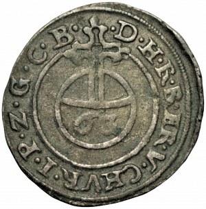 NIEMCY - Brandenburgia-Prusy - Jerzy Wilhelm (1619-1640) 6 groszy kiperowych, bez daty