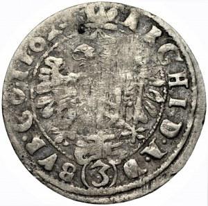 AUSTRIA - Ferdynand III - 3 krajcary 162... Wiedeń