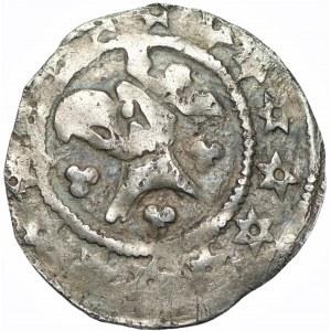 Henryk I (III) Głogowski lub Wacław II Czeski - Kwartnik głogowski (1300-1309)
