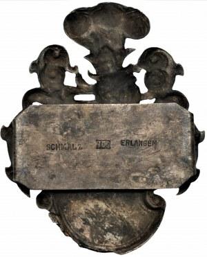 Tarcza herbowa XIX wiek, Ag 800,