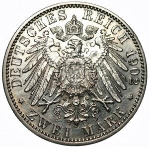NIEMCY - Badenia 2 marki 1902