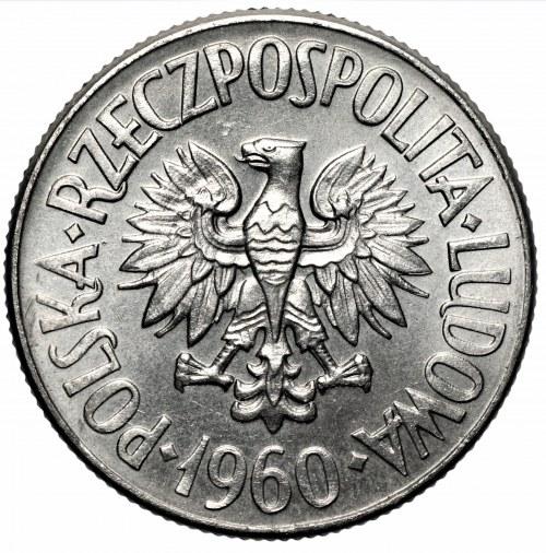 PRL - 5 złotych 1960 - Waryński - PRÓBA, nikiel