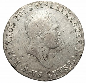 Królestwo Polskie - Aleksander I - 1 złoty 1818 IB