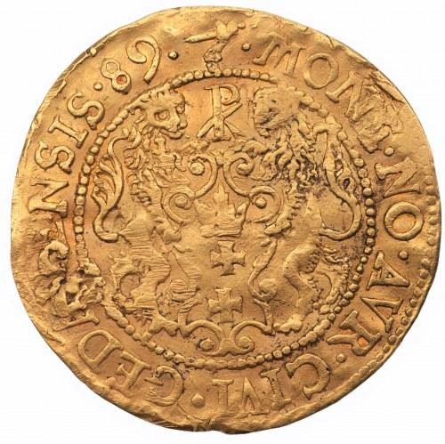 Zygmunt III Waza (1587-1632) Dukat 1589 Gdańsk