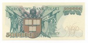 500.000 złotych 1990 - seria K