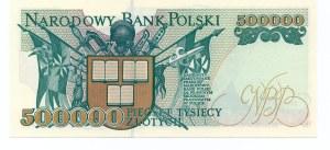 500.000 złotych 1993 - seria L