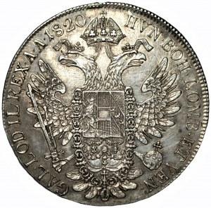 AUSTRIA - Franciszek II (1792-1835) - Talar 1820 (C)