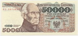 50.000 złotych 1989 - seria AC