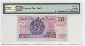 20 złotych 1994 - ZA - seria zastępcza druk (TDLR) PMG 63 EPQ