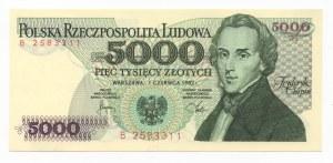 5.000 złotych 1982 - seria B