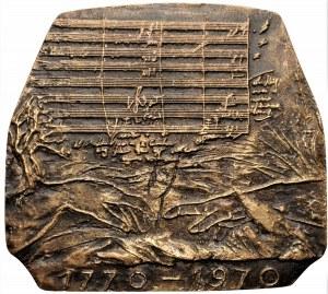 Józef Stasiński - medal Ludwig Van Beethoven