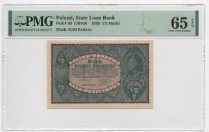 1/2 marki 1919 - PMG 65 EPQ
