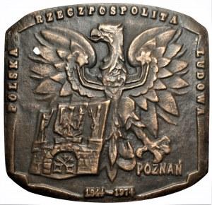 Józef Stasiński - medal PRL w uznaniu zasług Poznań