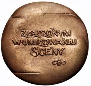 Józef Stasiński - medal Teatr Polski Poznań 1875