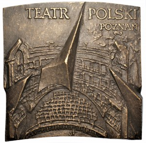 Józef Stasiński - medal Teatr Polski Poznań OPUS 742