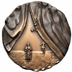 Medal 100 lat fińskiej opery w etui
