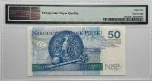 50 złotych 2012 - seria AA - PMG 65 EPQ