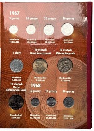 Polskie Monety Obiegowe PRL 1967-1972