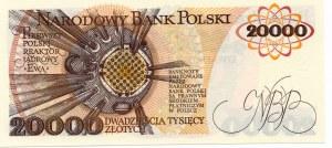 20.000 złotych 1989 - seria AN