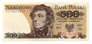 500 złotych 1979 - seria AZ