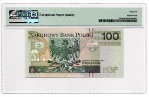 100 złotych 1994 - seria AA 0006205 - PMG 66 EPQ