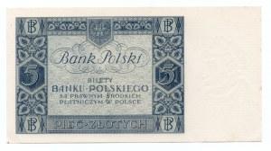 5 złotych 1930 - seria DG
