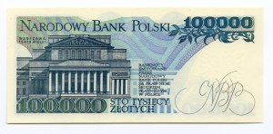 100.000 złotych 1990 - seria BA