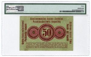 Poznań/Posen - 50 kopiejek 1916 ''...wystara'', duża czcionka - PMG 40