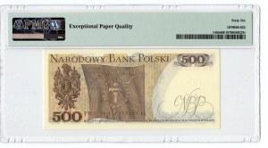 500 złotych 1976 - seria AN - PMG 67 EPQ