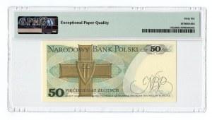 50 złotych 1975 - seria AN - PMG 66 EPQ